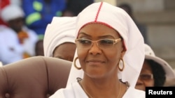 FILE - UNkosikazi Grace Mugabe.