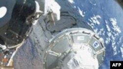 Montirana osmatračka kupola na Međunarodnoj svemirskoj stanici