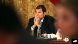 La SIP denunció la ley mordaza ecuatoriana.