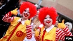 McDonald's şəbəkəsinin Yaponiyada 3,000-dən çox restoranı var.