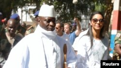 Yahya Jammeh da mayarsa Zineb Jammeh