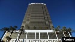 Khách sạn Trump International do Tổng thống Đắc cử Donald Trump sở hữu tại Las Vegas, Nevada, ảnh chụp ngày 09/11/2016.