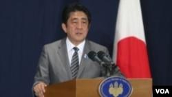 ປະທານາທິບໍດີ Shinzo Abe ຊຸກຍູ້ໃຫ້ປັບປຸງສາຍພົວພັນ ກັບຈີນໃຫ້ດີຂຶ້ນ ທີ່ກອງປະຊຸມສຸດຍອດ G20