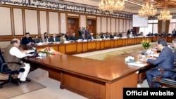 وزیراعظم نواز شریف کی زیر صدارت وفاقی کابینہ کا اجلاس