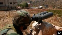 Бойовик угруповання Гезболла неподалік лівансько-ізраїльського кордону