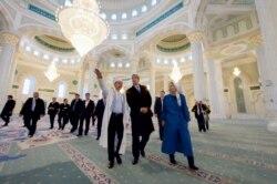 AQSh davlat kotibi Qozog'istonda Prezident Nazarboyev bilan uchrashdi