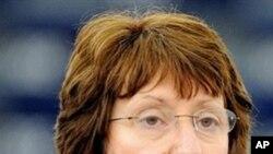 EU Foreign Policy Chief Catherine Ashton (file photo)