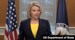 Juru Bicara Kementerian Luar Negeri AS, Heather Nauert (Foto: dok).
