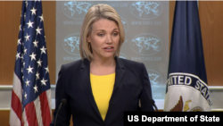 State Department spokesperson Heather Nauert. (File)