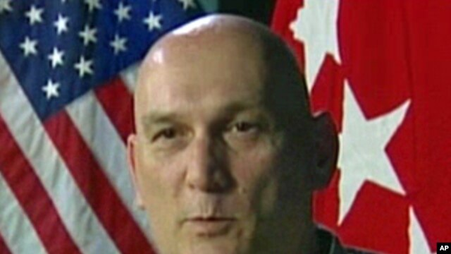 Army General Ray Odierno during his interview for the Pentagon Channel, 26 Apr 2010
