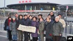 上海访民集体进京拜年
