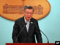 行政院副院长陈冲回答记者提问
