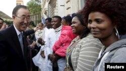 Ban Ki-mun danas u Rimu sa izbeglicama i migrantima