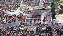 بازگشت معترضان به میدان تحریر قاهره