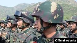 中國解放軍(資料圖片)