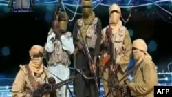 An image grabbed on Dec. 24, 2012 from a video released by the radical Islamist group known as Ansaru, which has claimed responsibility for the recent kidnapping of a French man.
