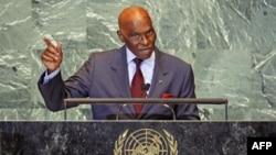 Tổng thống Senegal Abdoulaye Wade