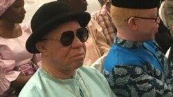 Reportage de Kassim Traoré lors du Forum sur l'albinisme au Mali