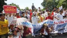 Biểu tình chống Trung Quốc tại Hà Nội, tháng 7, 2012