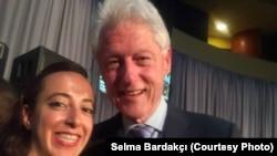 Bardakçı ve eski Başkan Bill Clinton