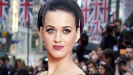 U.S. singer Katy Perry at the European Premiere of her film