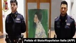 تابلوی «پرتره یک بانو» از گوستاو کلیمت که سالها مفقود شده بود، کشف و اصالت آن تأیید شد.