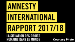 Le rapport d'Amnesty International.