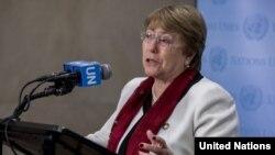 BM İnsan Hakları Yüksek Komiseri Michelle Bachelet