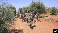 Солдаты сирийской правительственной армии