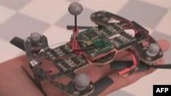 Eksperimentalni leteći robot sa četiri elise korišćen u eksperimentima sa daljinskim upravljanjem moždanim talasima