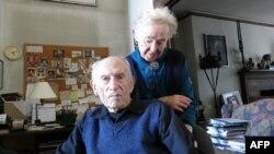 Уилл Барнет с женой Еленой