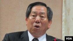 台灣國家安全局長蔡得勝(美國之音張永泰拍攝)