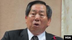 台灣國家安全局長 蔡得勝(美國之音張永泰拍攝)