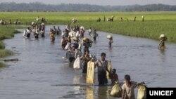 ဒုကၡသည္ေတြ ျပန္ပို႔ေရး အေဆာတလ်င္ မလုပ္ဖို႔ UNHCR တိုက္တြန္း
