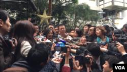 台湾大选投票日(美国之音萧洵拍摄)