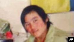 3月自焚的藏族女學生才讓吉