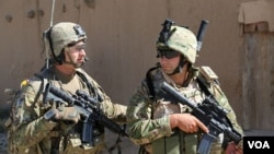 افغانستان میں تعینات غیر ملکی فوجی، فائل فوٹو
