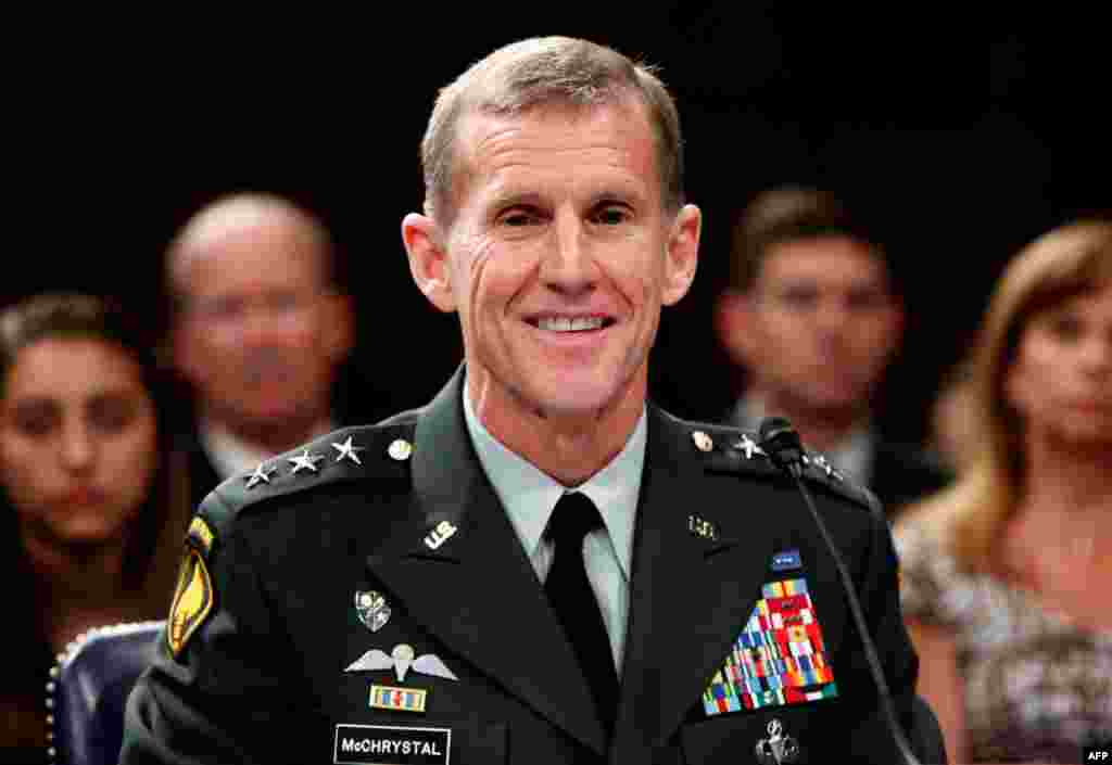 11 мая 2009 года 7енерал Стэнли МакКристал назначен главнокомандующим американских войск в Афганистане