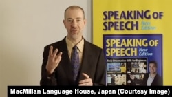 Charles LeBeau Presenting on Three Messages in Speaking