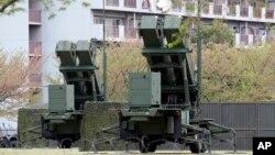 일본 도쿄 인근에 북한의 미사일 위협에 대비하기 위한 항공자위대 소속 PAC-3 지대공 요격미사일이 배치돼있다. (자료사진)