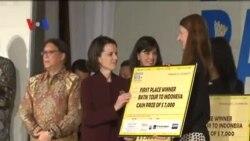 Warga AS Menangkan Kompetisi Batik KBRI Washington