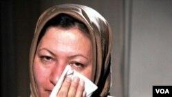 Mingguan Jerman Bild am Sonntag mengatakan dua pegawainya ke Iran untuk menyelidiki kasus Sakineh Ashtiani (wanita dalam gambar), yang diancam hukuman mati.