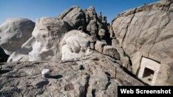 Raşmor dağında daş heykəllər