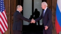 သမၼတ Biden ႏွင္႔ေဆြးေႏြးမႈ အျပဳသေဘာေဆာင္ (႐ုရွားသမၼတ Vladimir Putin)