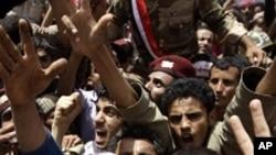 یمن: حکومت کے حق اور مخالفت میں مظاہرے
