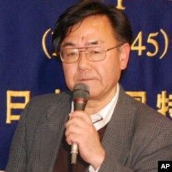 Masashi Goto, speaking in Tokyo on March 25, 2011.