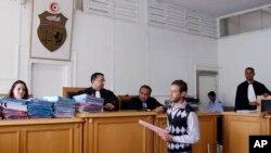 Un procès dans un tribunal à Kairouan, Tunisie, 30 mai 2013.