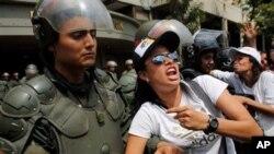 El informe dice que el Gobierno utiliza al poder judicial para reprimir las protestas estudiantiles.