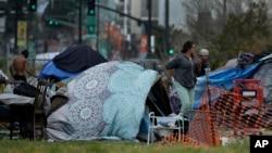 加州無家可歸者