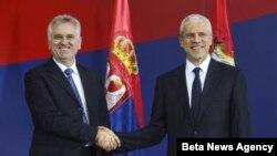 Novoizabrani predsednik Srbije Tomislav Nikolić i prethodnik na toj funkciji Boris Tadić